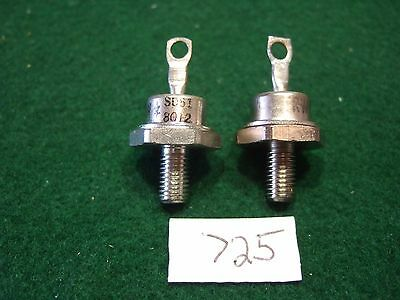 Pair of SD51 Schottky Barrier Rectifier Diode 60A 45 Volts - NOS
