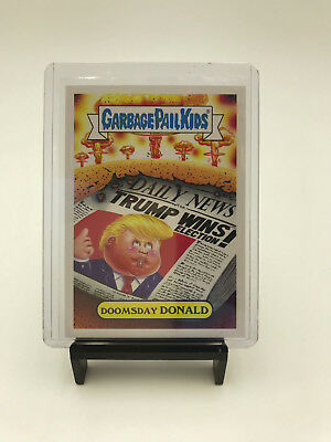 Garbage Pail Kids - DOOMSDAY DONALD 3a  - 2017 Nuclear Sticker