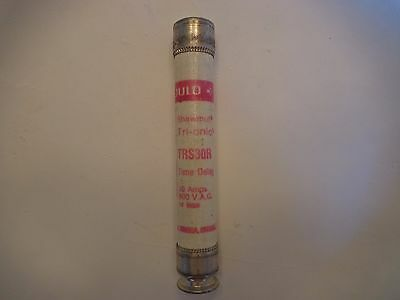 "Gould Shawmut RK5 TRS 30 R Fuse 13/16"" By 5"" New Old Stock"