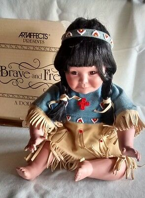 Indian Girl Doll - By Perillo - Brave and Free  -Artaffects Ltd.