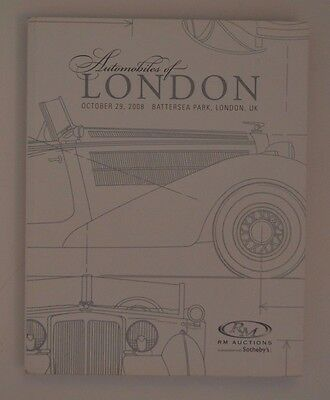 2008 Automobiles of London RM Auctions Catalogue FREE SHIP