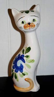 "Large Vintage Inarco Cat Figurine 9"" Tall               (G1)"
