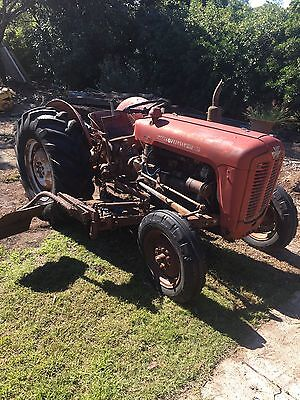 Massey Ferguson Tractor and Attachments