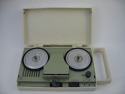 Senior Corder Reel to Reel Tape Recorder/Player Portable All Transistor - Moves