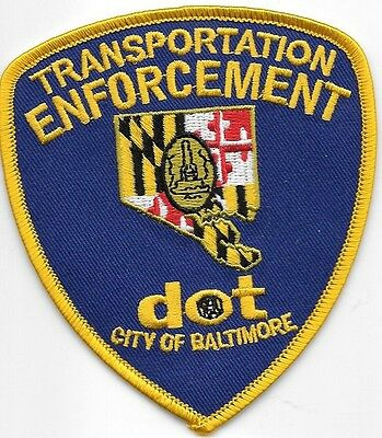 Baltimore Maryland Md Transportation Enforcement Dot Balt Bpd Pd Local State