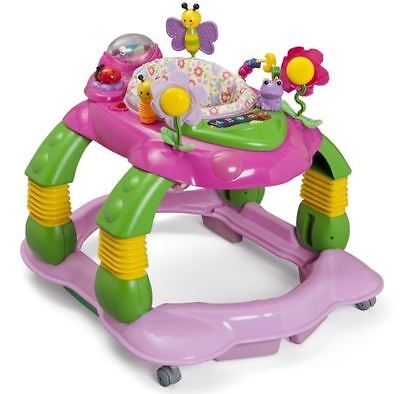 Infant Girl Convertible Activity Center 3 in 1 Play Baby Walker Toddler Table