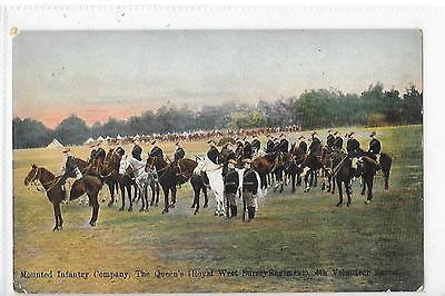 Mounted Infantry Company The Queen's  (Royal W Surrey Regiment) 4Th Volunteer