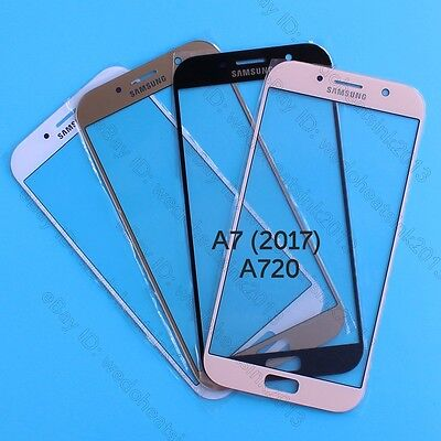 Front Outer Lens Glass Touch Screen For Samsung Galaxy A7 (2017) SM-A720F A720Y