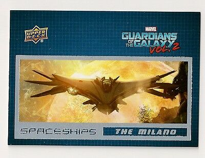 2017 Guardians Of The Galaxy Vol 2 Spaceships #ss1 The Milano