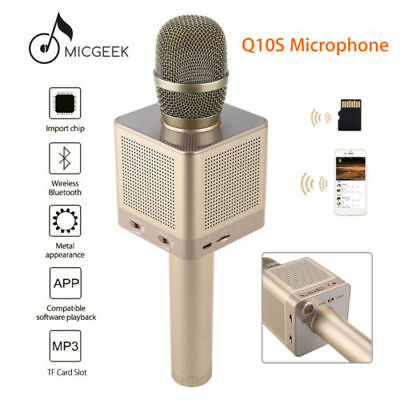 MicGeek Q10S Wireless Microphone Bluetooth Speaker For Android iPhone 7 Player B