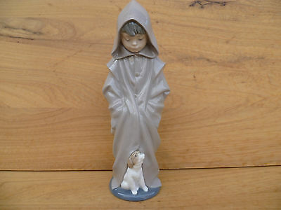 Vintage Old Spanish Made Very Nice Porcelain Figure Of A Lady  (505)