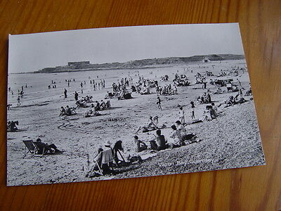 TOP3822 - Real Photo Postcard -  Vazon Bay, Guernsey