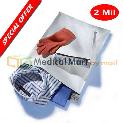 200 9x12 Brand New 2 Mil Poly Mailers Self Seal Plastic Bags Envelopes 100% Best
