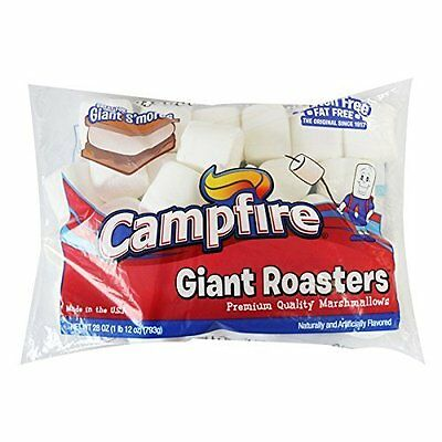 Imported Giant Roasters Campfire Premium Quality Marshmallows 793g Made in USA
