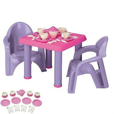 Patio Furniture For Kids Table And Chair Set Play Picnic Table Toddler Playset