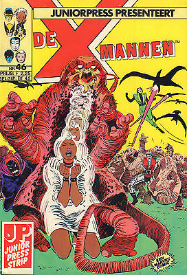 X-Mannen 46  (Junior Press Strip1986)