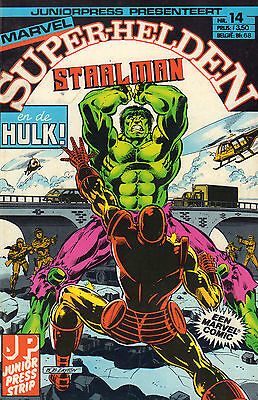Marvel Super-Helden 14 - Staalman En De Hulk (Junior Press 1983)