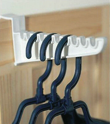 NEW Lakeland 8825  Over Door Plastic Ironing Hooks - Holds 10 Hangers 2 Set