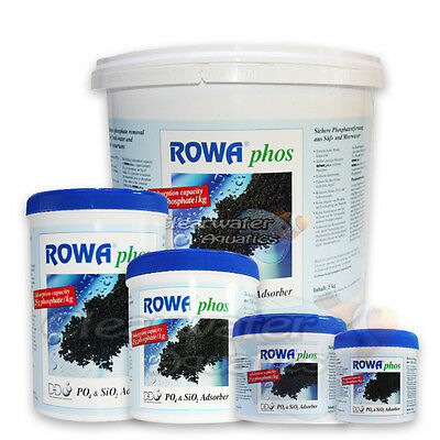Rowaphos Phosphate Remover Rowa Media P04 Reef Safe Tank Fish Aquarium Algae