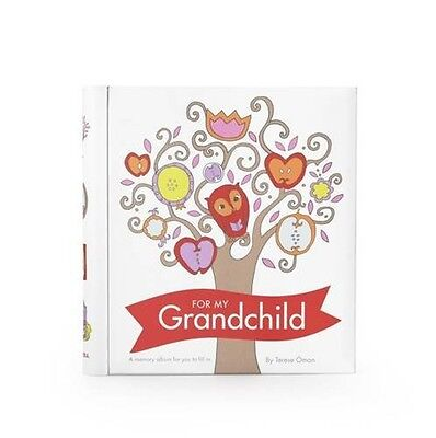 For my Grandchild Memory Album by Terese Oman Fill & Tell Record Book NEW