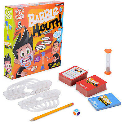 Babble Mouth Party Game Speak Shout Out Talking Mouthpiece Challenge Toy Star