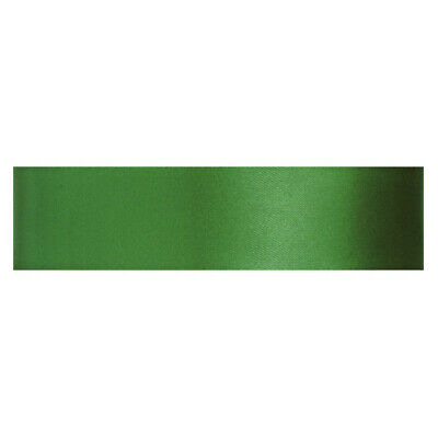 Culpitt GRASS GREEN 12mm x 25m Double Faced Satin Ribbon Cake Decoration Craft