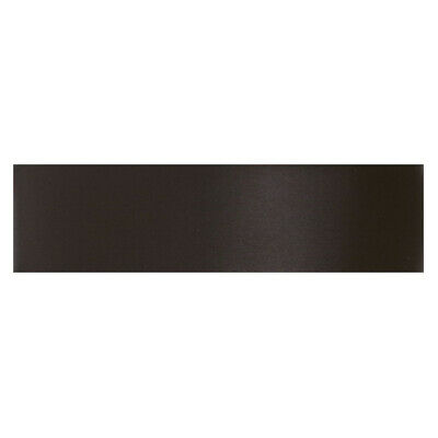 Culpitt BLACK 25mm x 25m Double Faced Satin Ribbon Cake Decoration Bows Craft