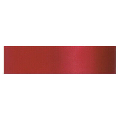 Culpitt SCARLET RED 12mm x 25m Double Faced Satin Ribbon Cake Decoration Craft