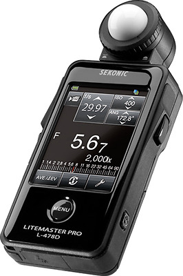 how to use sekonic l 478d