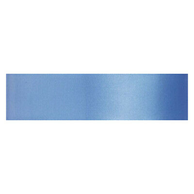Culpitt DENIM BLUE 25mm x 25m Double Faced Satin Ribbon Cake Decoration Craft