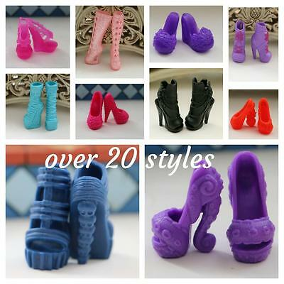 MONSTER & EVER AFTER HIGH DOLL replacement shoes accessories part heel boots