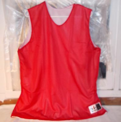 New Alleson Athletic Basketball Practice Jersey Womens Red Size XXL