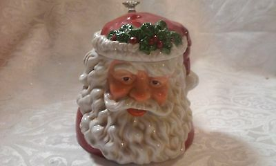 Possible Dreams 1993 Santa Claus Stein Christmas Foxhill Porcelain