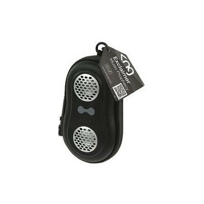 KNG Exclaimer Music Prophecy Black Portable Speaker Case Cover For MP3