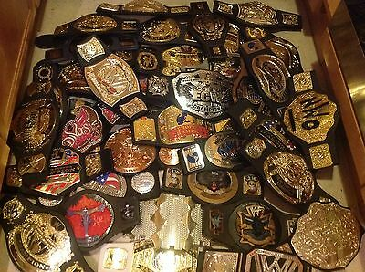 JAKKS WWE WWF Wrestling GÜRTEL US Chmapionship Belt ECW Tag Team Heavyweight lot