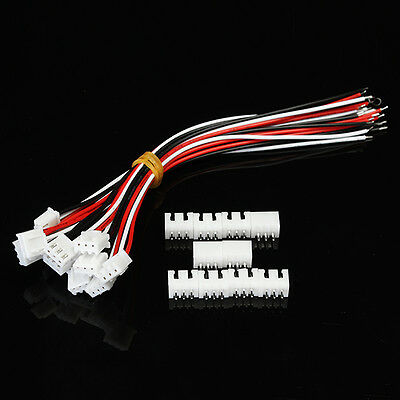 10Pcs XH Pitch 2.54mm Single-Head 3Pin Wire To Board Connector 15cm 24AWG With S