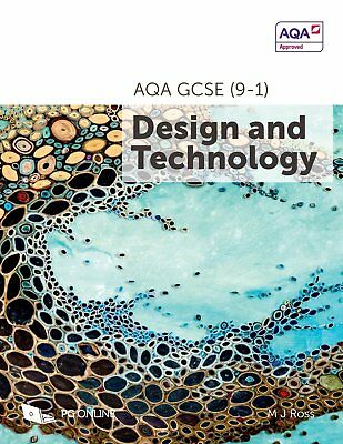 AQA GCSE (9-1) Design and Technology 8552: 2017 by M. J. Ross Paperback - NEW