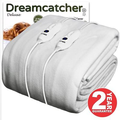 King Size Electric Blanket Washable Fitted Heated Mattress Cover