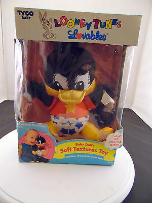 Baby Daffy Plush - with Teething Ring
