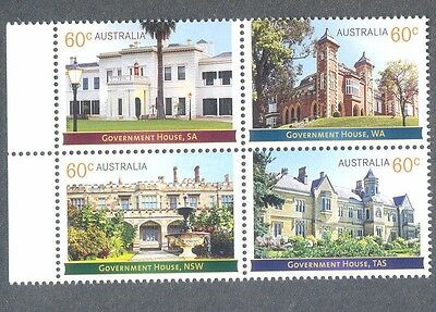 Australia-Government Buildings-2013 mnh set (3998-01)Historical Architecture