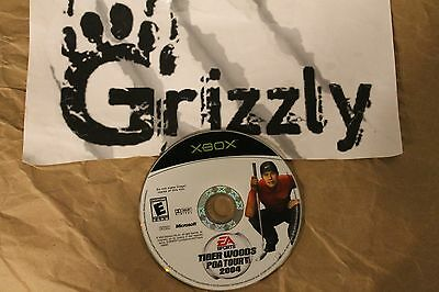 USED EA Sports Tiger Woods PGA Tour 04 XBOX (NTSC) Tested and Working! DISC ONLY