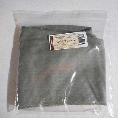 Longaberger Tapered tray Bin Liner in Sage #2219587