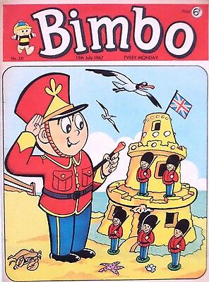 BIMBO - 15th JULY 1967 (10 - 16 July) - YOUR WEEK OF BIRTH ?? FINE...robin dandy