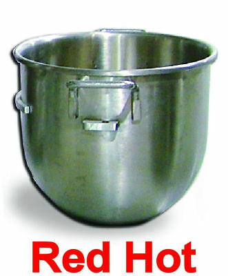 Omcan 14247 30 Qt Stainless Steel Mixing Bowl For Hobart Dough Mixer