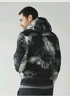 Lululemon Get Up Get Down Hoodie Mens Jacket Coat XXL 2XL Black & White NWT