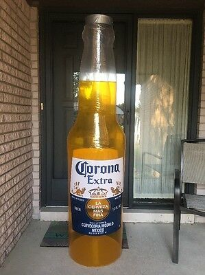 CORONA, NEW BEER BOTTLE 6ft TALL INFLATABLE BLOW UP SIGN