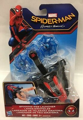 Marvel Spider-man Homecoming Spinning Web Launcher