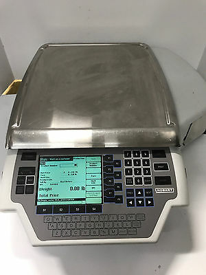 Hobart Quantum-1 Max Grocery Deli Meat Scale & Printer 29032-BJ