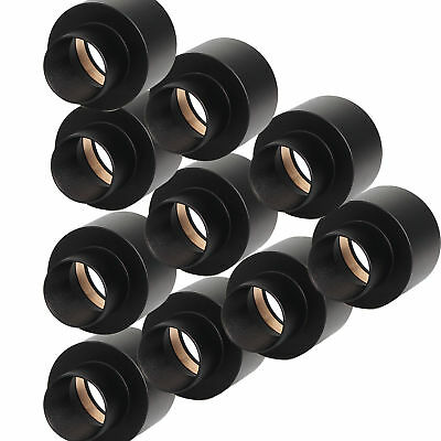 "10x Metal 0.965"" to 1.25"" Telescope Eyepiece Adapter 24.5mm to 31.7mm Adapter+No"