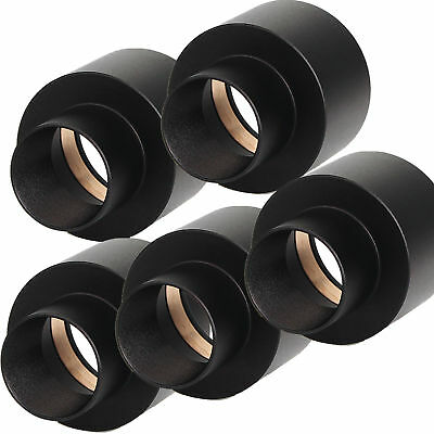 "5 pcs 0.965"" to 1.25"" Telescope Eyepiece Mount Adapter 24.5mm to 31.7mm Adapter"